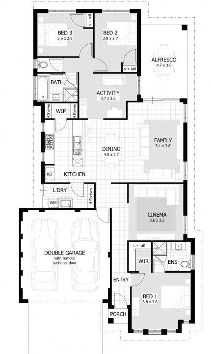 30 best images about contempo floorplans on pinterest