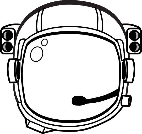 astronaut Hat Printable | Astronaut S Helmet clip art - vector clip art online, royalty free ...