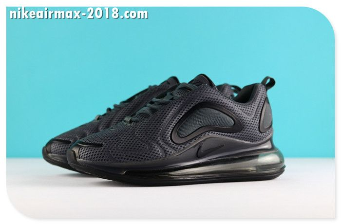 Nike Air Max 720 Mesh Latest Women Jogging Shoes Black Chaussure