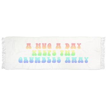 Hug a Day in Rainbow Scarf by Terrella