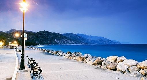 Palaiochora in Crete, Greece