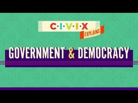 Government and Democracy - YouTube