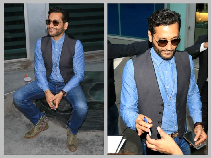 Excellent capture photos to find Cas Anvar attends the Premiere of 'The Layover' at the Arclight Cinema in Hollywood on August 23, 2017.