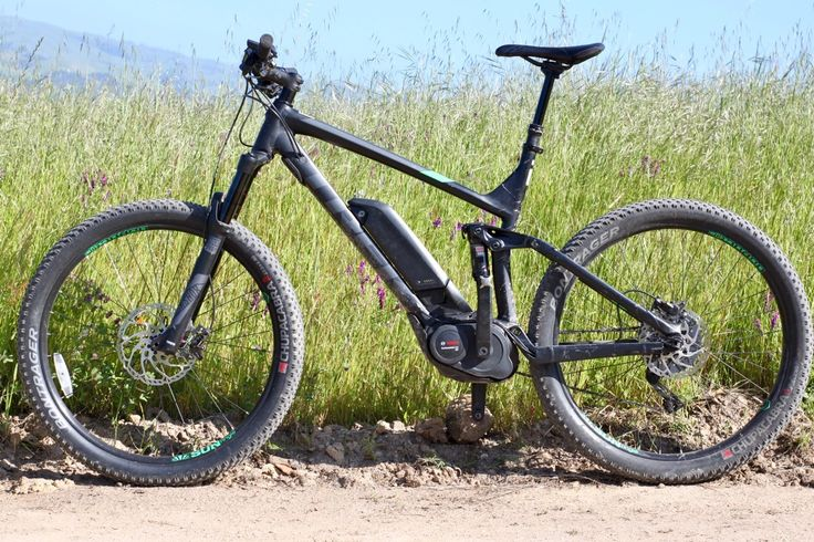Trek Powerfly 8 Full Suspension Electric Mountain Bike Review https://www.singletracks.com/blog/mtb-reviews/trek-powerfly-8-full-suspension-electric-mountain-bike-review/