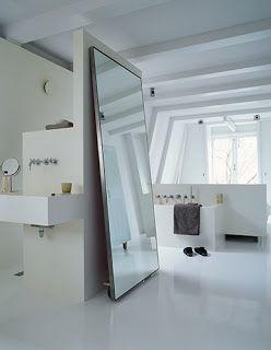 pia / ducha / espelho / banheira