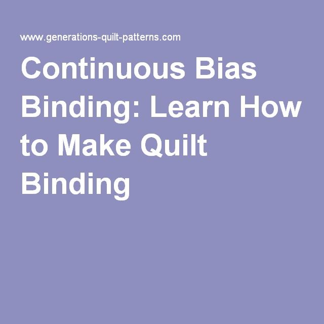 11 best Creative quilt binding images on Pinterest | Quilt binding ... : quilt binding strip width - Adamdwight.com