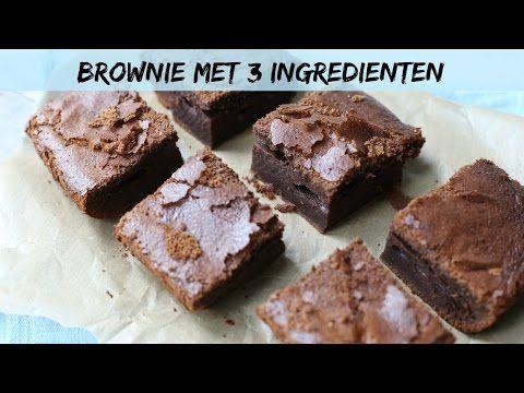 Lekker en Simpel - Nutella-brownie met 3 ingrediënten - YouTube