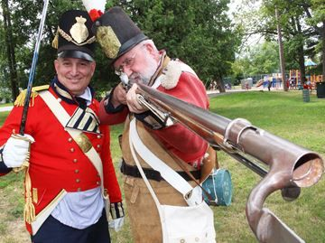 War of 1812 relived in Wasaga Beach