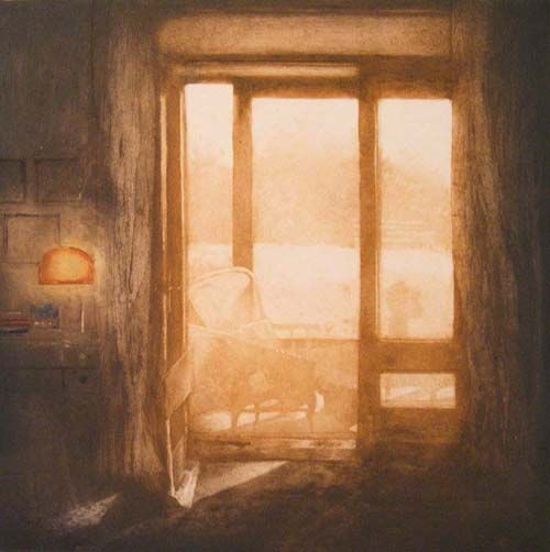 Anja Percival. Etching and Collagraph.