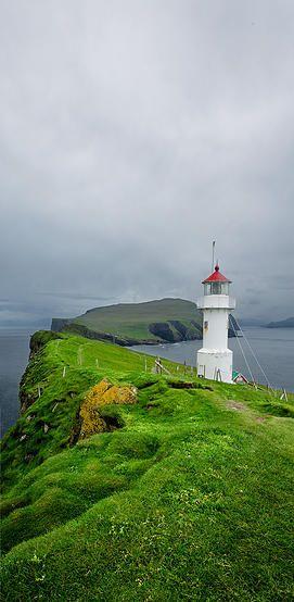 Mykines lighthouse, Faroe Islands | justinekiblerphotography.com