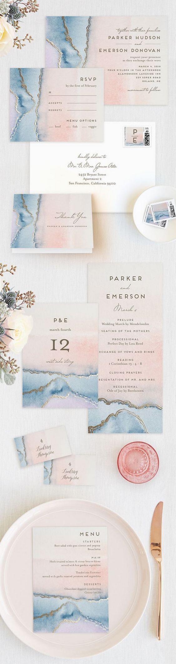 Geode Wedding Ideas / http://www.himisspuff.com/geode-wedding-ideas/9/