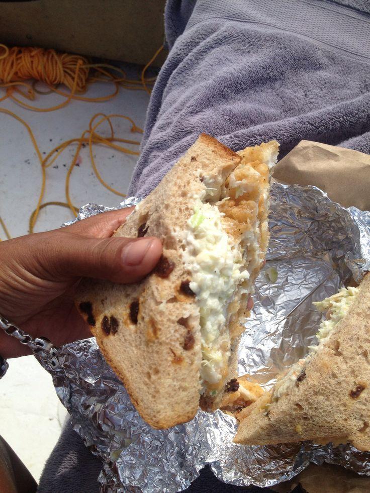 Famous fish sandwich. St Georges Bermuda
