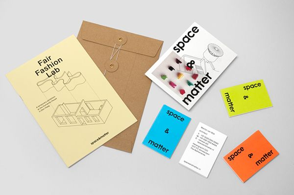 space&matter Visual Identity on Behance