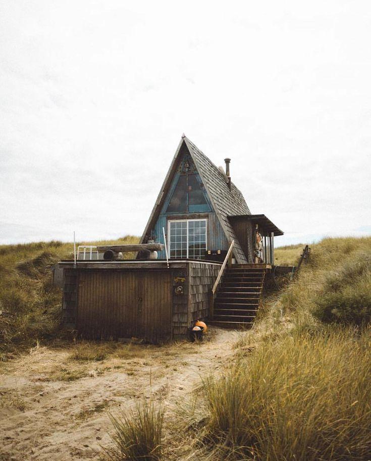 A-frame #tinyhouse via @dylankato