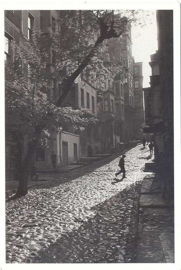 street in Tarlabaşı, Istanbul -Turkey, 1965 photo by Ara Güler