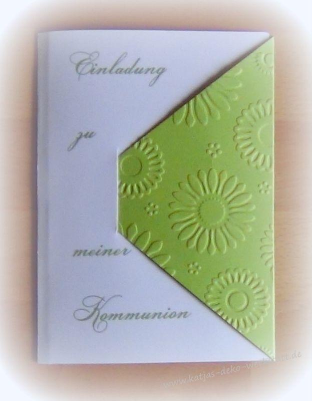 Details Zu Einladungskarte Kommunion Konfirmation Taufe Firmung Einladung  Karte Danksagung