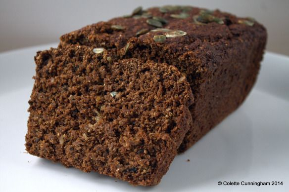Guinness, Pistachio & Walnut Bread -  http://cakesbakesandotherbits.com/2014/09/13/guinness-pistachio-walnut-bread/