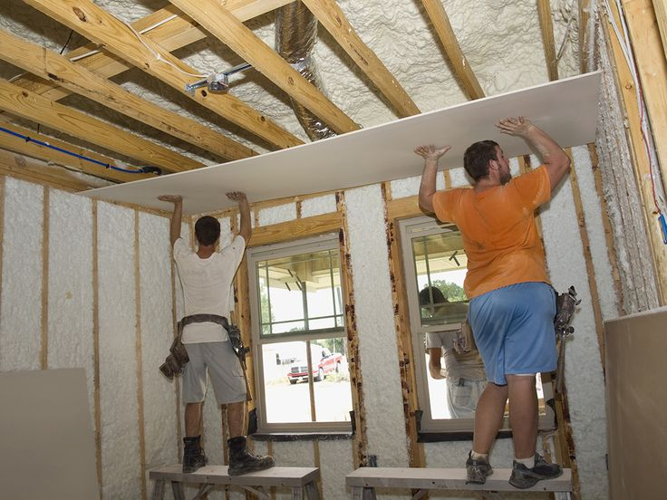 How To Drywall A Ceiling Interiors Drywall And Ceilings
