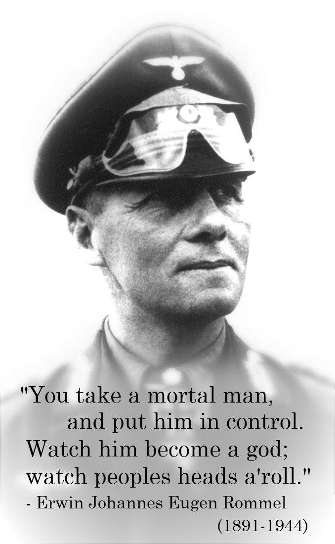 erwin rommel essay Rommel, erwin born nov 15, 1891, in heidenheim, baden-würtemberg died oct 14, 1944, in herlingen, near the city of ulm fascist german field marshal (1942.