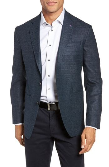7cbc39be73531c TED BAKER KYLE TRIM FIT WOOL BLAZER.  tedbaker  cloth