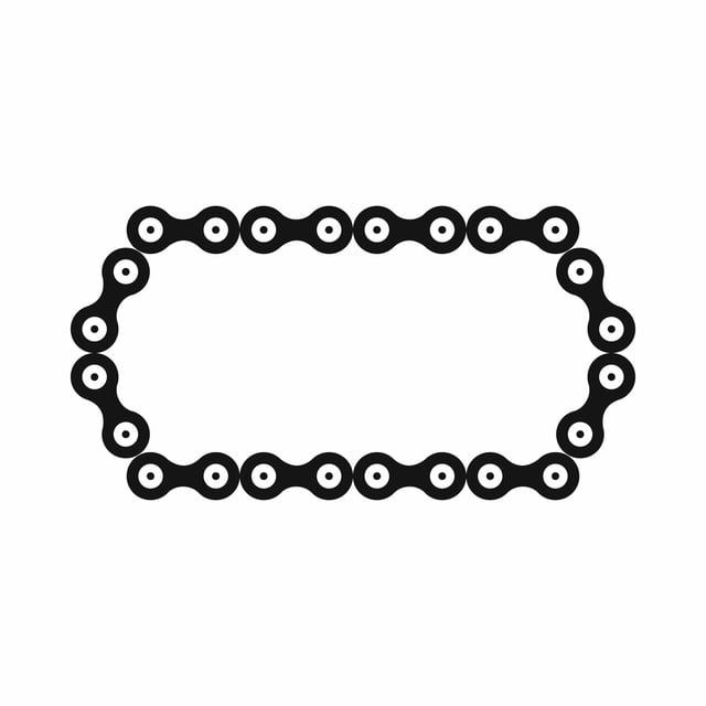 Bicycle Chain Icon Simple Style Style Icons Simple Icons Bicycle Icons Png And Vector With Transparent Background For Free Download