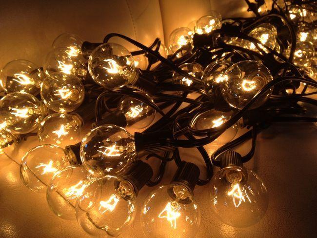 【楽天市場】Outdoor Lighting Patio String Lights Black 25球 G40 アウトドアーライティング パティオストリングライト ブラック ガーデニング・イルミネーション・ライト・電飾・オープンカフェ・業務用・ガーデン・庭・南国・パーティ・ランプ・アメリカ・ガーデンライト:STAB BLUE ENTERPRISE
