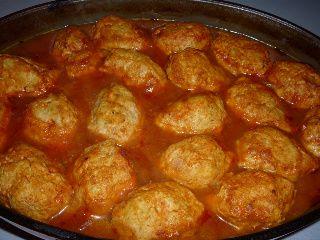 Kofta cu sos tomat la cuptor