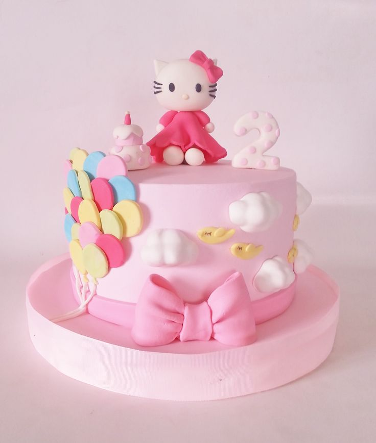 1000 Images About Hello Kitty Cake On Pinterest
