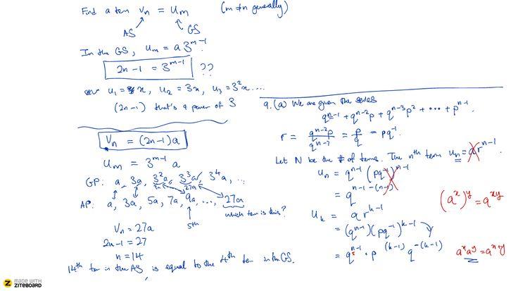 Ziteboard = shared whiteboard for teaching math