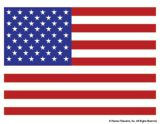 A full-color printable of the flag of the United States of America. #FlagDay
