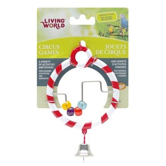 Juguete Circus Abacus LIVING WORLD - #FaunAnimal nuestras aves de compañía pueden soñar acerca de unirse al circo.