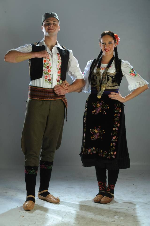 Serbian Traditional Clothing From Jasenica Central Serbia