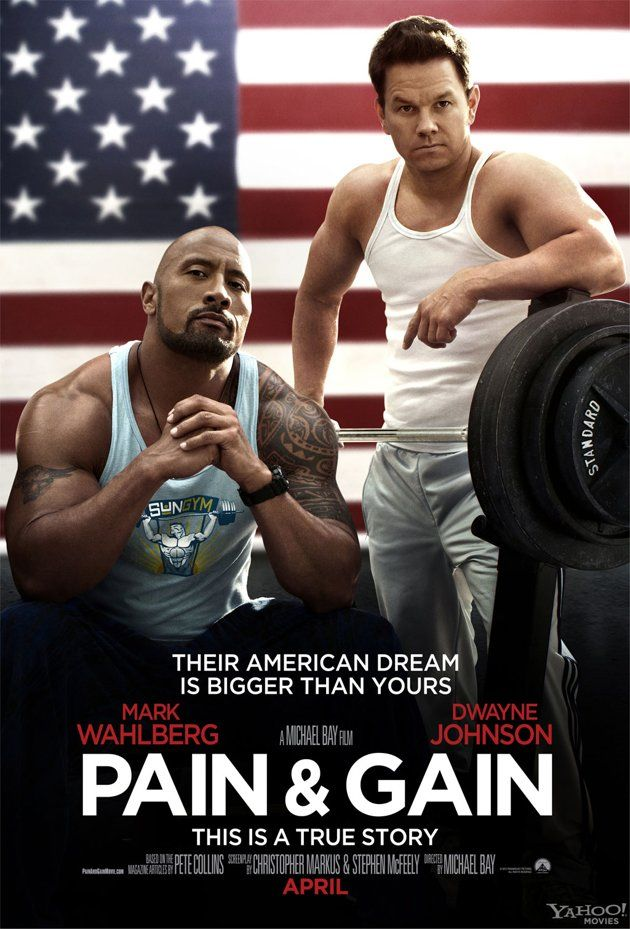 Dwayne Johnson and Mark Wahlberg have more muscle in this movie than an entire football team.