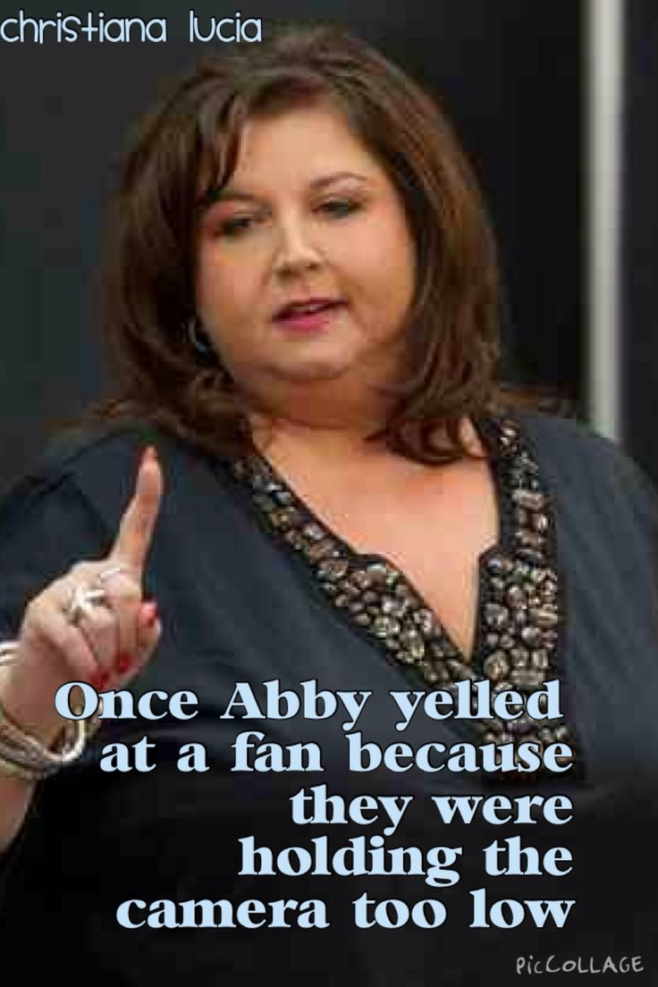 Rare dance moms facts credit to Christiana Lucia