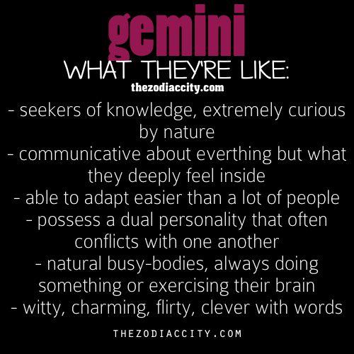 Gemini man flirt