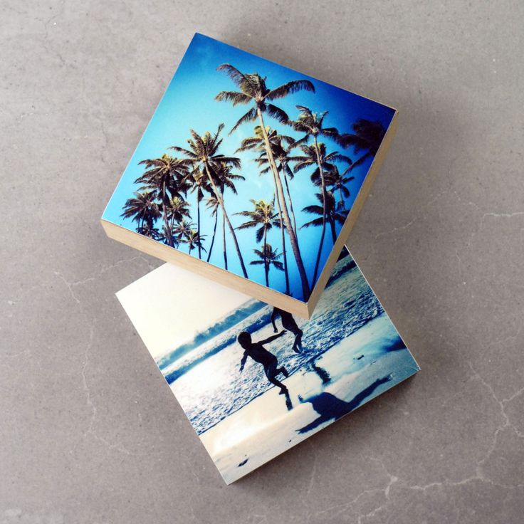 Photo Blocks - 4 x 4 | Printed on metal