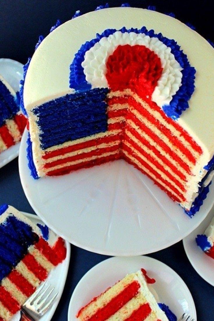 American Cake Day Flag Ideas Norwegianindependence Pinterest This Best 25 Flag Cake Ideas On Pinterest Flag Cake 4th Of July Desserts Flag Cake Recipe