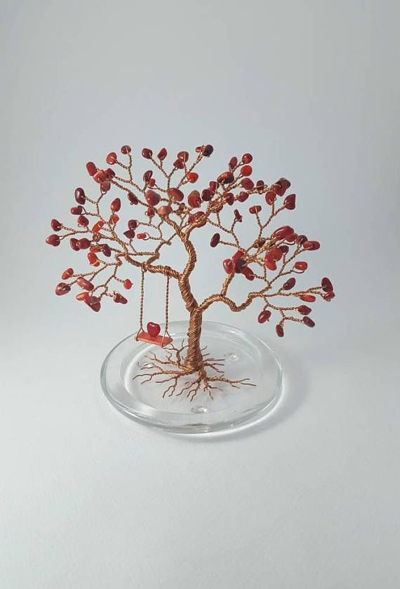 Tree of Heart Valentine's Gift Wire Tree Sculpture