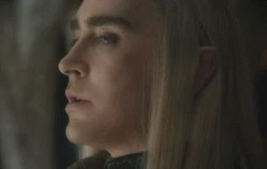 Headcanon - Thranduil's face when his messengers return from the Council of Elrond without his son. He knows where Legolas is going.