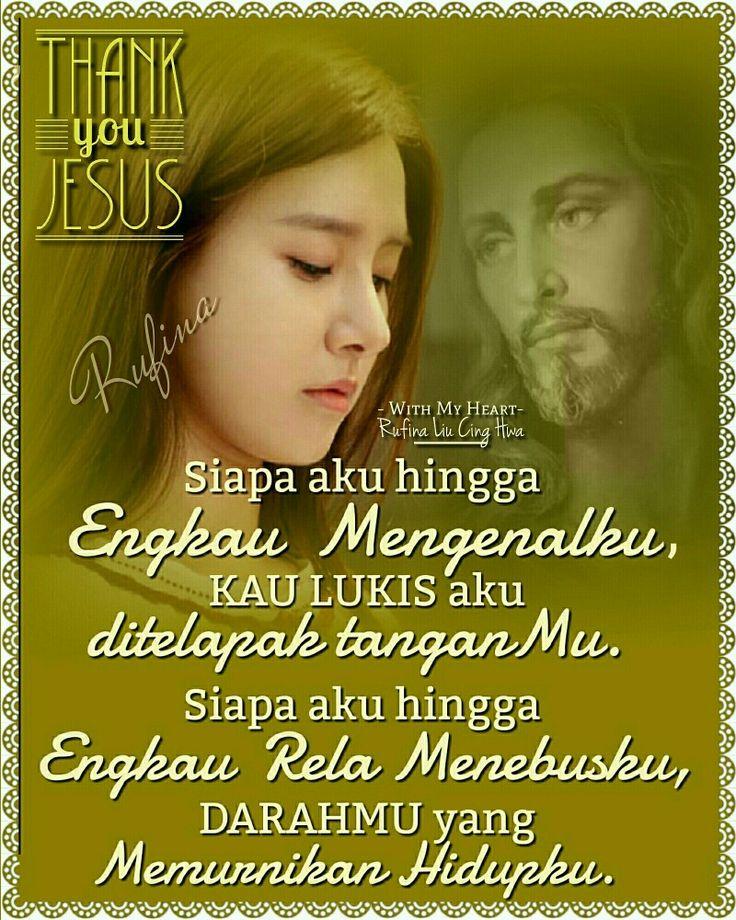 With My Heart ✨🌙... 🕇» •ღღ• Good Night •ღღ🕇• ~ ~ ~  Efesus 1:7 (TB)  Sebab di dalam Dia dan oleh darah-Nya kita beroleh penebusan, yaitu pengampunan dosa, menurut kekayaan kasih karunia-Nya,