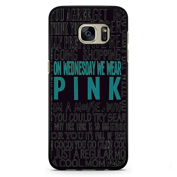 Pink On Wednesday Phonecase Cover Case For Samsung Galaxy S3 Samsung Galaxy S4 Samsung Galaxy S5 Samsung Galaxy S6 Samsung Galaxy S7