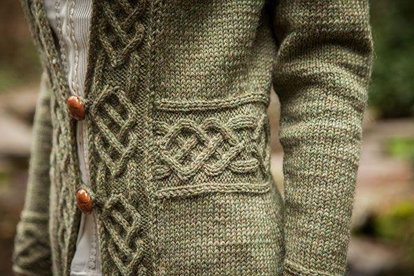 Dealla Cardigan - Knitting Patterns and Crochet Patterns from KnitPicks.com by…