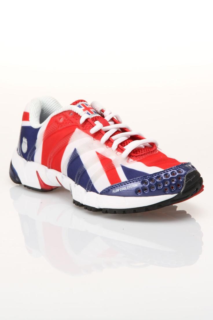 K-Swiss K-ONA S Sneakers in England Flag