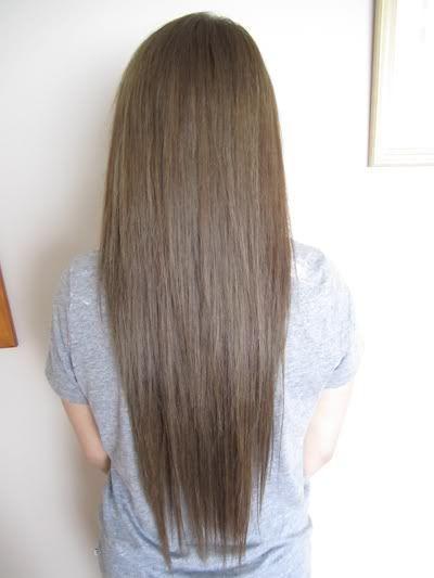 Ashy hair color, photo