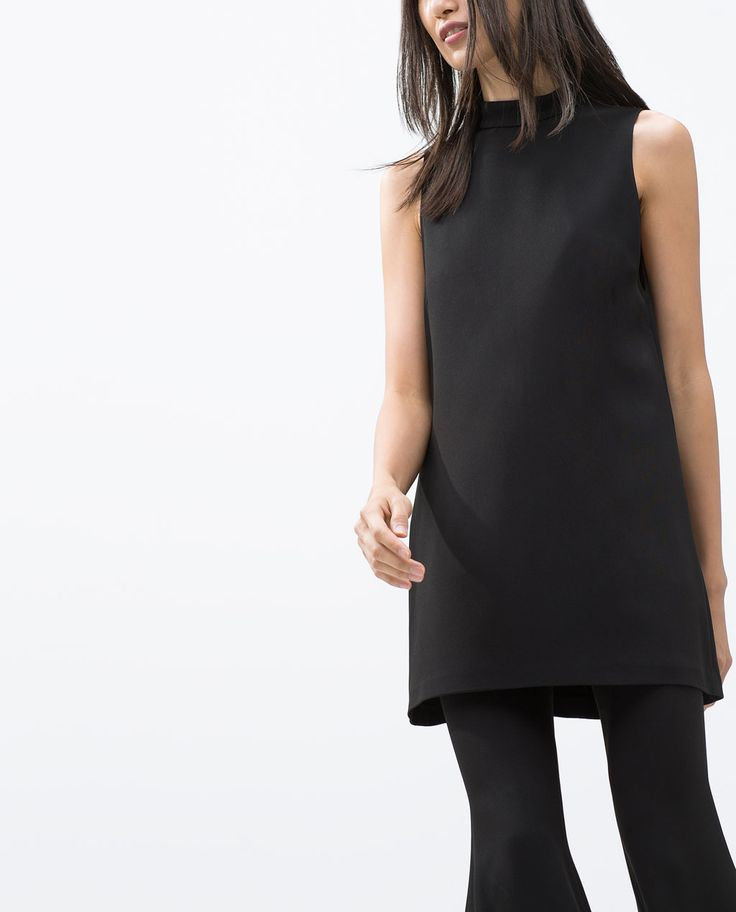 HIGH NECK TOP-Tops-Woman-COLLECTION AW15 | ZARA United States