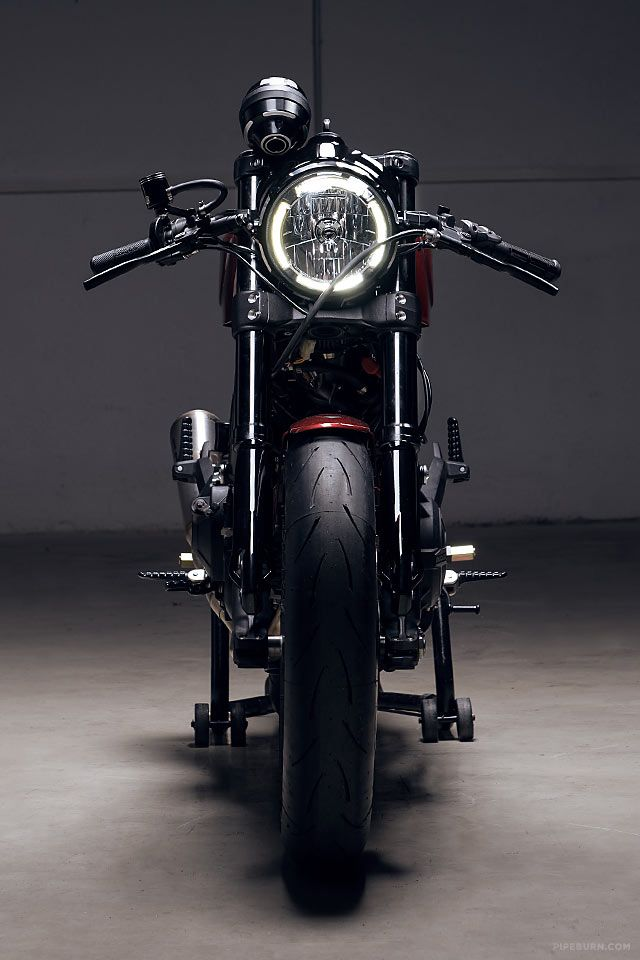Munich's Diamond Atelier have produced some incredible, high-end motorcycles over the last few years. But lately they've decided to take a new approach, making a run of customized motorcycles all based around the same platform. This allows them to nut out the quirks and challenges of each build and offer up a motorcycle that's cost effective but equally bloody gorgeous. The first to...