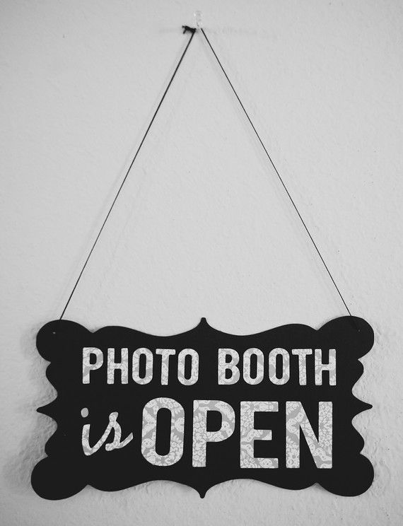Photo Booth Prop  Open / Closed Sign 2sided by sarahQhappybooths, $18.00