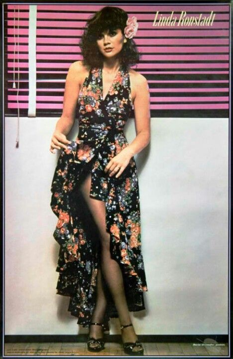 Linda Ronstadt, had this on a poster and a t-shirt