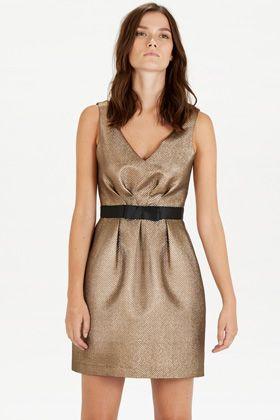 Dresses | Metallics JACQUARD PROM DRESS | Warehouse