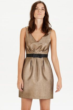 Dresses | Metallics JACQUARD PROM DRESS | Warehouse